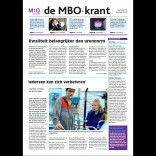 Cover mbo-krant nummer 25